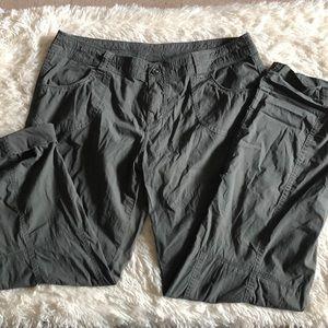 Kuhl women's splash pants with roll up pant leg